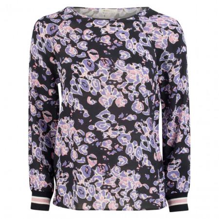 SALE % | Rich&Royal | Bluse - Regular Fit - langarm | Lila online im Shop bei meinfischer.de kaufen