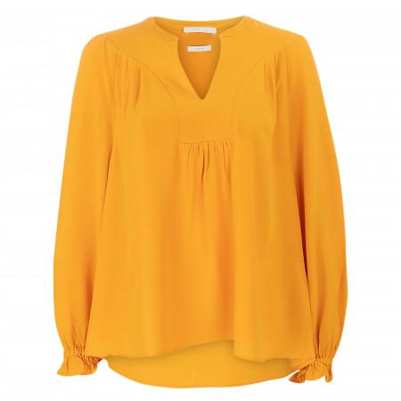 SALE % | Rich&Royal | Bluse - Loose Fit - Kelchausschnitt | Orange online im Shop bei meinfischer.de kaufen