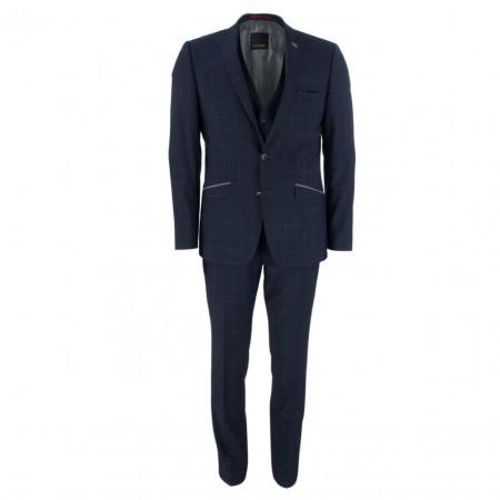 SALE %   Roy Robson   Anzug - Slim Fit - Schurwolle   Blau online im Shop bei meinfischer.de kaufen
