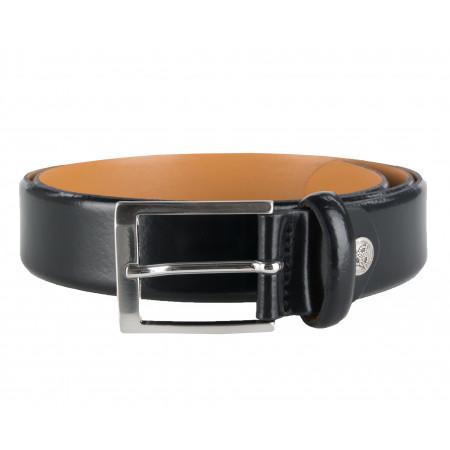 SALE % | Boss Casual | Ledergürtel - 3.5cm - schwarz | Schwarz online im Shop bei meinfischer.de kaufen