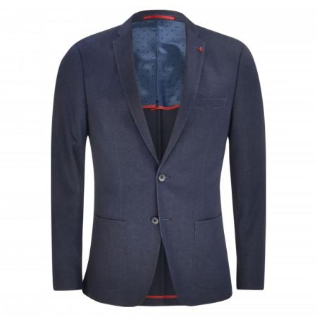 SALE % | Roy Robson | Sakko - Slim Fit - Jersey | Blau online im Shop bei meinfischer.de kaufen