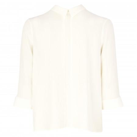 SALE % | s.Oliver BLACK LABEL | Hemdbluse - Comfort it - 3/4-Arm | Weiß online im Shop bei meinfischer.de kaufen