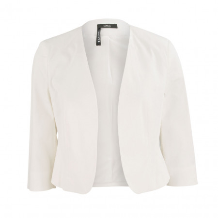 SALE % | Boss Casual | Blazer - cropped - Schulterpolster | Weiß online im Shop bei meinfischer.de kaufen