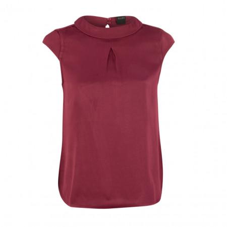 SALE %   s.Oliver RED LABEL   Bluse - Leisure Fit - Crewneck   Rot online im Shop bei meinfischer.de kaufen