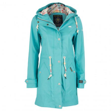 SALE % | Schmuddelwedda | Regenmantel - Regular Fit - weatherproof | Blau online im Shop bei meinfischer.de kaufen