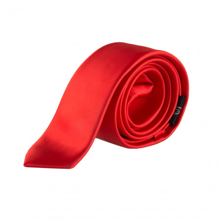 SALE %   Seidenfalter   Krawatte - uni - 5cm   Rot online im Shop bei meinfischer.de kaufen