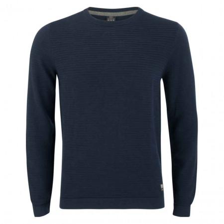 SALE % | S.Oliver Man | Pullover - Regular Fit - Struktur | Blau online im Shop bei meinfischer.de kaufen