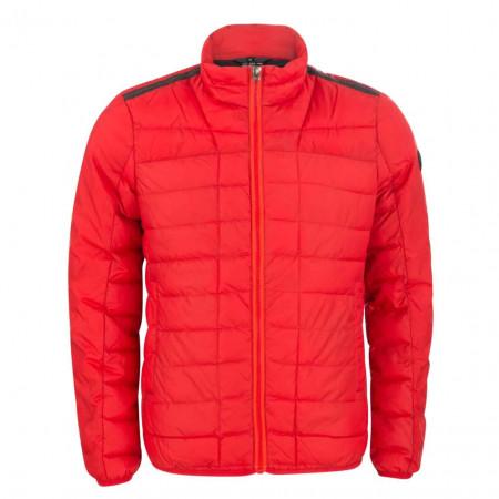 SALE %   S.Oliver Man   Outdoorjacke - Regular Fit - wattiert   Rot online im Shop bei meinfischer.de kaufen