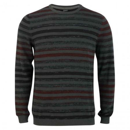 SALE % | S.Oliver Man | Pullover - Regular Fit - Stripes | Grau online im Shop bei meinfischer.de kaufen