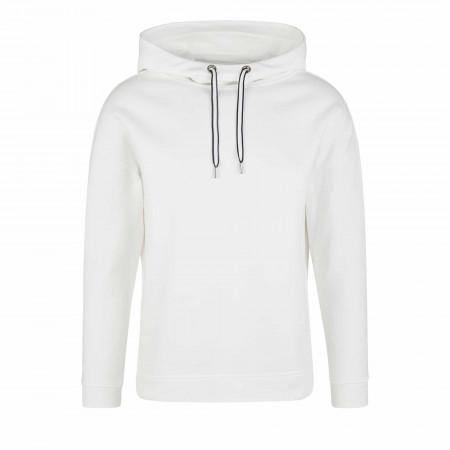 SALE %   s.Oliver RED LABEL   Hoodie - Regular Fit - unifarben   Weiß online im Shop bei meinfischer.de kaufen