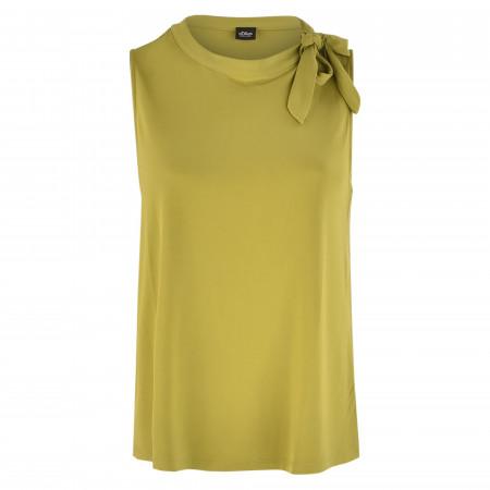 SALE %   s.Oliver BLACK LABEL   Shirt - Loose Fit - ärmellos   Grün online im Shop bei meinfischer.de kaufen
