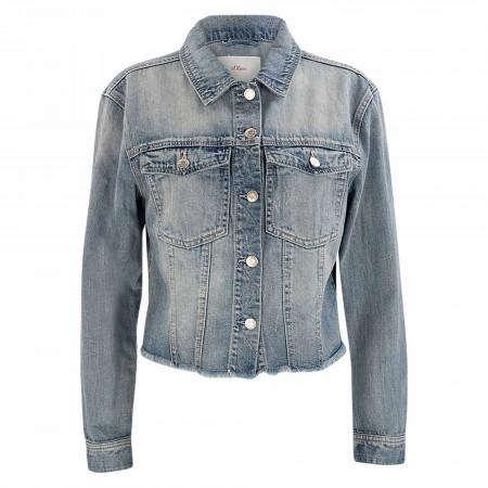 SALE %   s.Oliver RED LABEL   Jeansjacke - Regular Fit - Denim   Blau online im Shop bei meinfischer.de kaufen