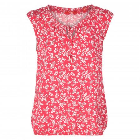 SALE %   s.Oliver RED LABEL   Bluse - Loose Fit - Print   Pink online im Shop bei meinfischer.de kaufen