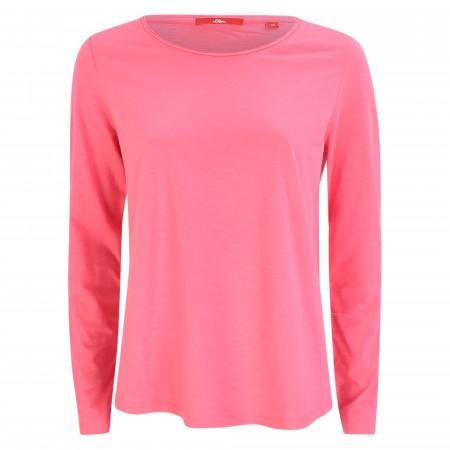SALE % | s.Oliver RED LABEL | Shirt - Loose Fit - unifarben | Pink online im Shop bei meinfischer.de kaufen