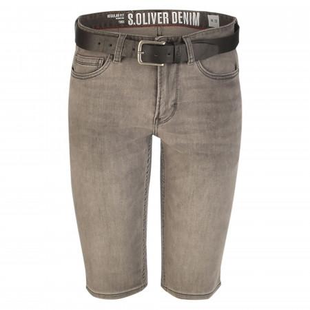 SALE % | S.Oliver Man | Shorts - Regular Fit - Tubx | Grau online im Shop bei meinfischer.de kaufen