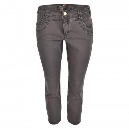 SALE % | s'questo | Caprijeans - Straight Fit - 5 Pocket | Grau online im Shop bei meinfischer.de kaufen