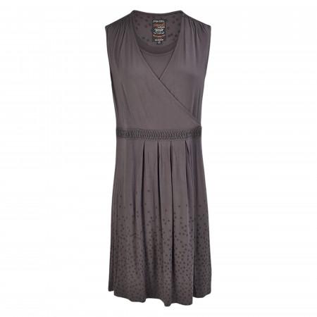 SALE % | s'questo | Kleid - Comfort Fit - Sweat-Qualität | Grau online im Shop bei meinfischer.de kaufen