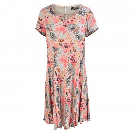 SALE % | s'questo | Freizeitkleid - Comfort Fit - Flowerprint | Rosa online im Shop bei meinfischer.de kaufen