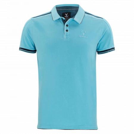 SALE %   QUESTO SAVAGE   Poloshirt - Regular Fit - 1/2-Arm   Blau online im Shop bei meinfischer.de kaufen