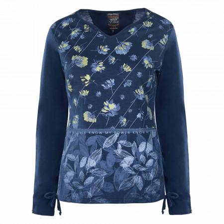 SALE % | s'questo | Shirt - Regular Fit - Print | Blau online im Shop bei meinfischer.de kaufen