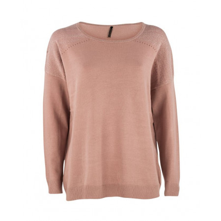 Soyaconcept-Pullover-rose-31890-30-Dollie-499-424 Front