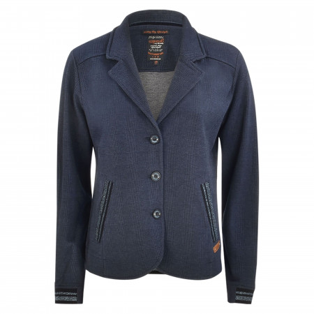 SALE % | s'questo | Blazer - Casual Fit - Glencheck | Blau online im Shop bei meinfischer.de kaufen