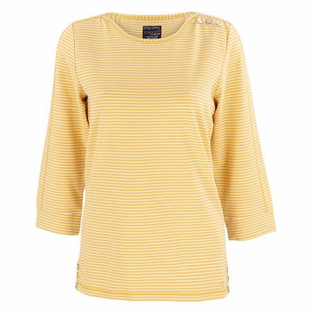 SALE %   s'questo   Sweatshirt - Regular Fit - Ringel   Gelb online im Shop bei meinfischer.de kaufen