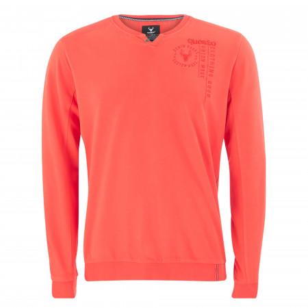 SALE %   QUESTO SAVAGE   Sweatshirt - Comfort Fit - unifarben   Orange online im Shop bei meinfischer.de kaufen