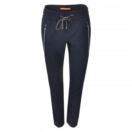 SALE % | Street One | Joggpant - Tapered Leg - unifarben | Schwarz online im Shop bei meinfischer.de kaufen