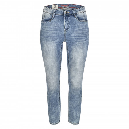 SALE % | Street One | Jeans - Slim Fit - High Waist | Blau online im Shop bei meinfischer.de kaufen