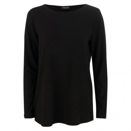 SALE % | Street One | Shirt - Regular Fit -  Larina | Schwarz online im Shop bei meinfischer.de kaufen