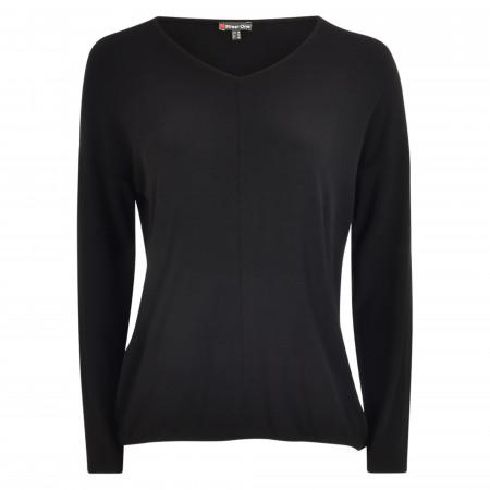 SALE % | Street One | Shirt - Loose Fit - Ramona | Schwarz online im Shop bei meinfischer.de kaufen