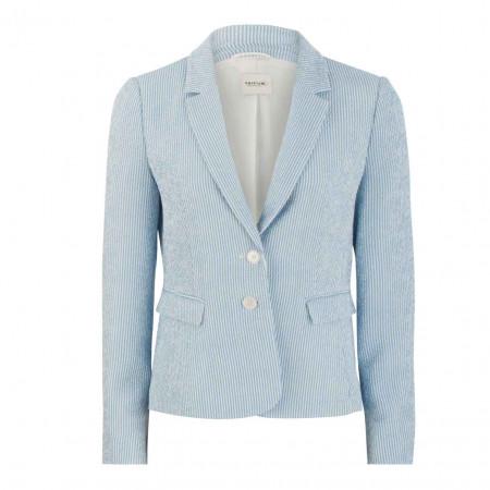 SALE % | Taifun | Blazer - Regular Fit - Knopfverschluss | Blau online im Shop bei meinfischer.de kaufen