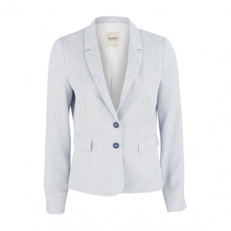 SALE % | Boss Casual | Blazer - Slim Fit - Strukturmuster | Weiß online im Shop bei meinfischer.de kaufen