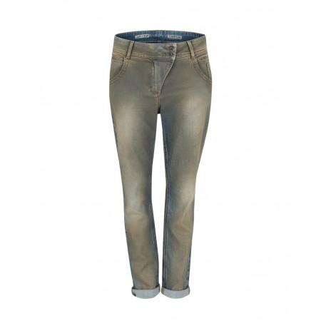SALE % | Taifun | Jeans - Boyfriend - Used-Look | Grau online im Shop bei meinfischer.de kaufen