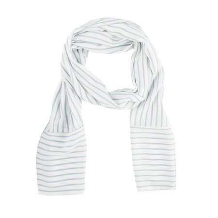 SALE % | Boss Casual | Elegantes Halstuch mit Streifen | Weiß online im Shop bei meinfischer.de kaufen