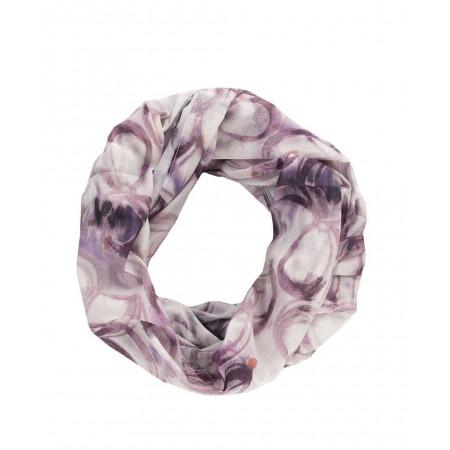 SALE % | Taifun | Schal mit Muster | Lila online im Shop bei meinfischer.de kaufen