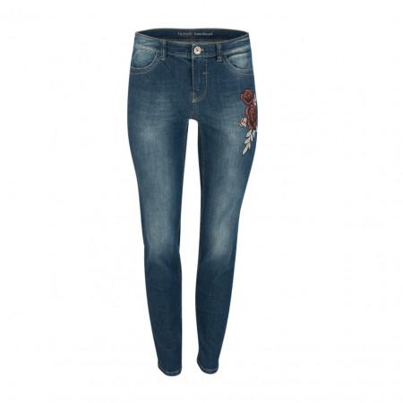 SALE % | Taifun | Jeans - Super Skinny Fit - Stitching | Blau online im Shop bei meinfischer.de kaufen