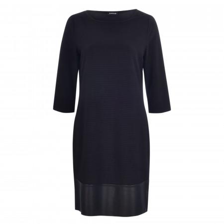 SALE % | Taifun | Kleid - Regular Fit - 3/4-Arm | Schwarz online im Shop bei meinfischer.de kaufen