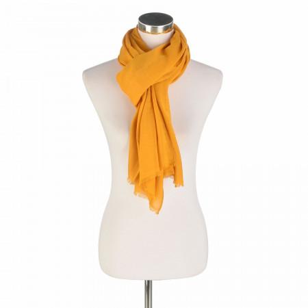 SALE % | Taifun | Schal - Muster | Gelb online im Shop bei meinfischer.de kaufen