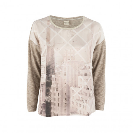 SALE % | Boss Casual | Shirt - Regular Fit - Satin-Optik | Beige online im Shop bei meinfischer.de kaufen