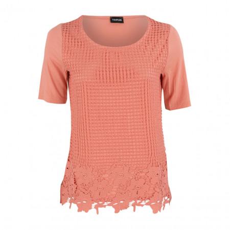 SALE % | Boss Casual | Shirt - Regular Fit - Häkel-Optik | Rosa online im Shop bei meinfischer.de kaufen