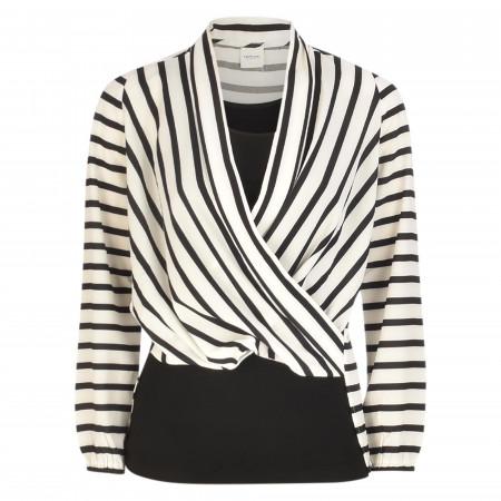SALE % | Taifun | Shirt - Loose Fit - Stripes | Schwarz online im Shop bei meinfischer.de kaufen