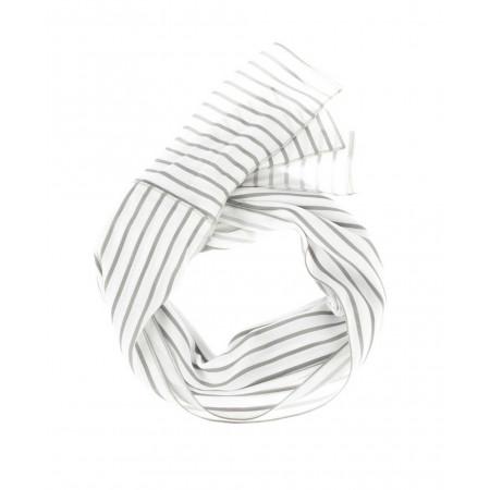 SALE % | Boss Casual | Elegantes Halstuch mit Streifen | Grau online im Shop bei meinfischer.de kaufen