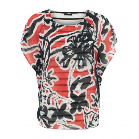 SALE % | Taifun | Tunika-Blumenprint | Rot online im Shop bei meinfischer.de kaufen