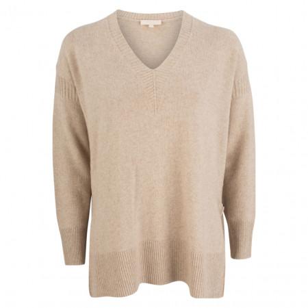 SALE % | talk about | Pullover - oversized - Woll-Mix | Beige online im Shop bei meinfischer.de kaufen