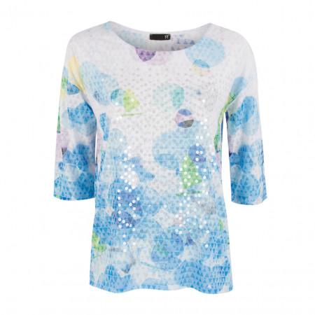 SALE % | Boss Casual | Shirt - Regular Fit - Pailletten | Blau online im Shop bei meinfischer.de kaufen