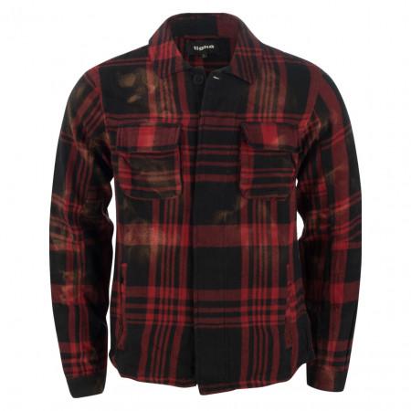 SALE % | tigha | Freizeithemd - Slim Fit - Ludo | Rot online im Shop bei meinfischer.de kaufen