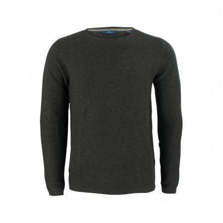 SALE % | Boss Casual | Pullover - Regular Fit - Ripp | Grau online im Shop bei meinfischer.de kaufen