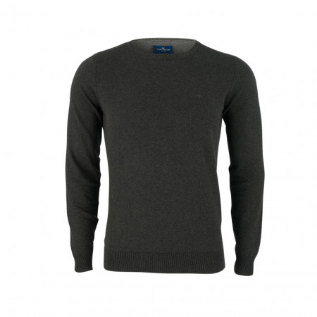 SALE % | Boss Casual | Pullover - Slim Fit - Crewneck | Grau online im Shop bei meinfischer.de kaufen